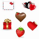 Valentines Day Icons Collection