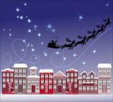 Santa in town
