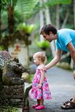 Father and daughter in Bali