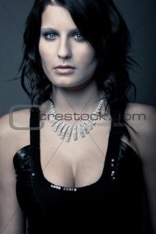 beautiful luxury dark girl