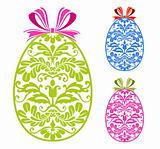 Easter ornament eggs
