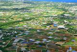 aerial photo of okinawa japan