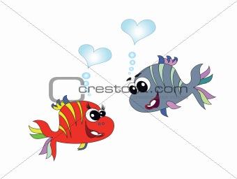 Fish, vector