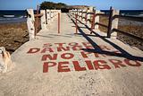 old pier in Cuba