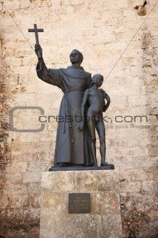 Statue of Fray Junipero Serra
