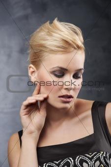 beautiful blond girl