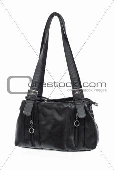 Old black bag