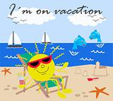 I´m on vacation