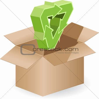 box and arrow