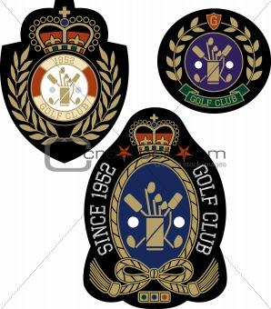 classic sport emblem badge design