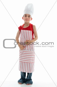 Little chef thinking