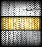 Metal texture. Vector