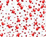 balloons on hearts