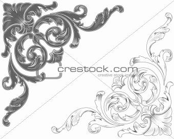 Classic ornamental corners
