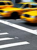 Motion Yellow CAbas in Manhattan