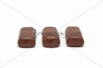 Group of Delicious chocolate sweets