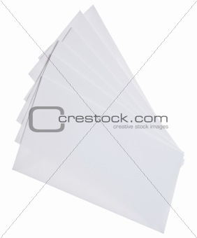 Blank White Envelopes