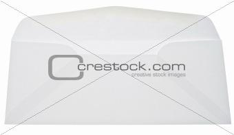 Blank Open White Envelope