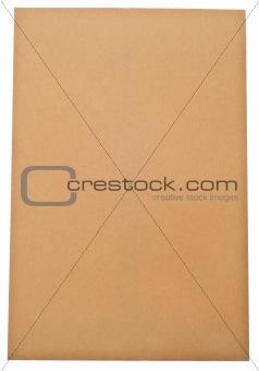 Blank Brown Envelope