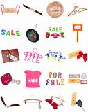 Collection of SALE Signs