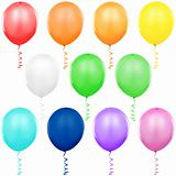 Colored Balloons Singles