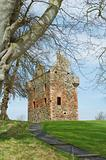 Greenknow tower scottish borders