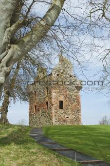 Greenknow tower scottish borders