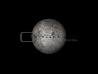 Moon in space