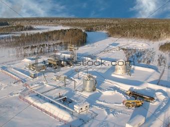 Aerial pipeline Sky