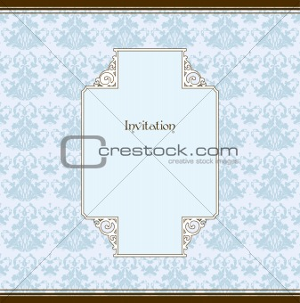 Frame And Pattern. Vector illustration