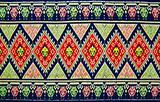 Pattern style Thai Silk