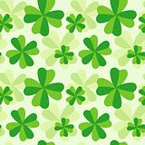 Pattern of four leaf clover