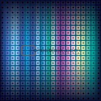 abstract background with squares and dots