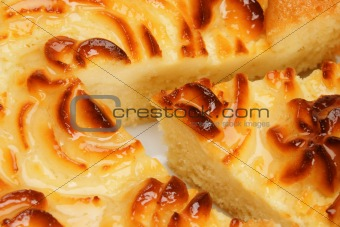 Delicious cheese pie