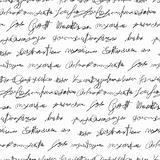 Seamless fake writing texture