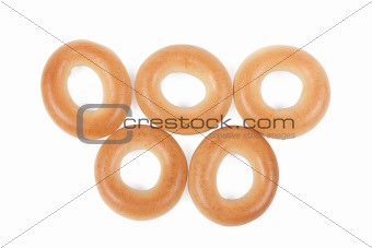 Five bread rings