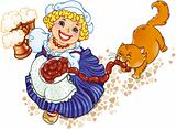 Oktoberfest lady