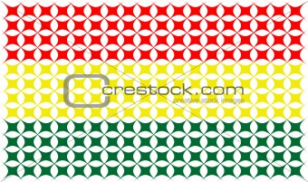 flag from Ghana country