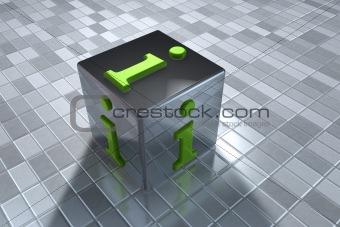 3D info symbol