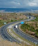 Curvy highway