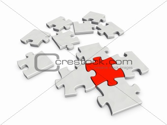 A piece crucial for completing a puzzle