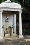 The Largo da Fonte,  Fountain of the Virgin, Monte, Madeira, Portugal