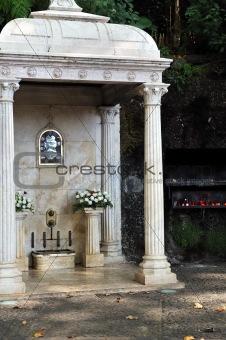 The Largo da Fonte,  Fountain of the Virgin, Monte, Madeira, Portugal