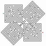 squares maze