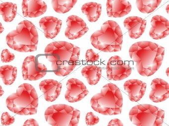 valentine diamonds pattern