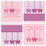 cute butterfly cards