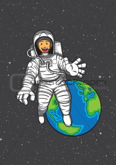 Happy Astronot