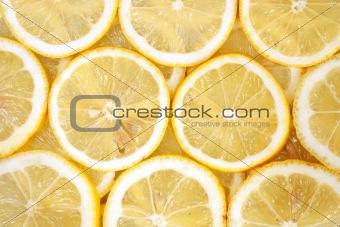 Slices of lemons