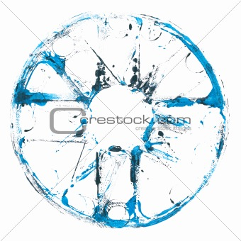 Abstract art symbol
