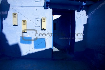 Small street of chefchaouen
